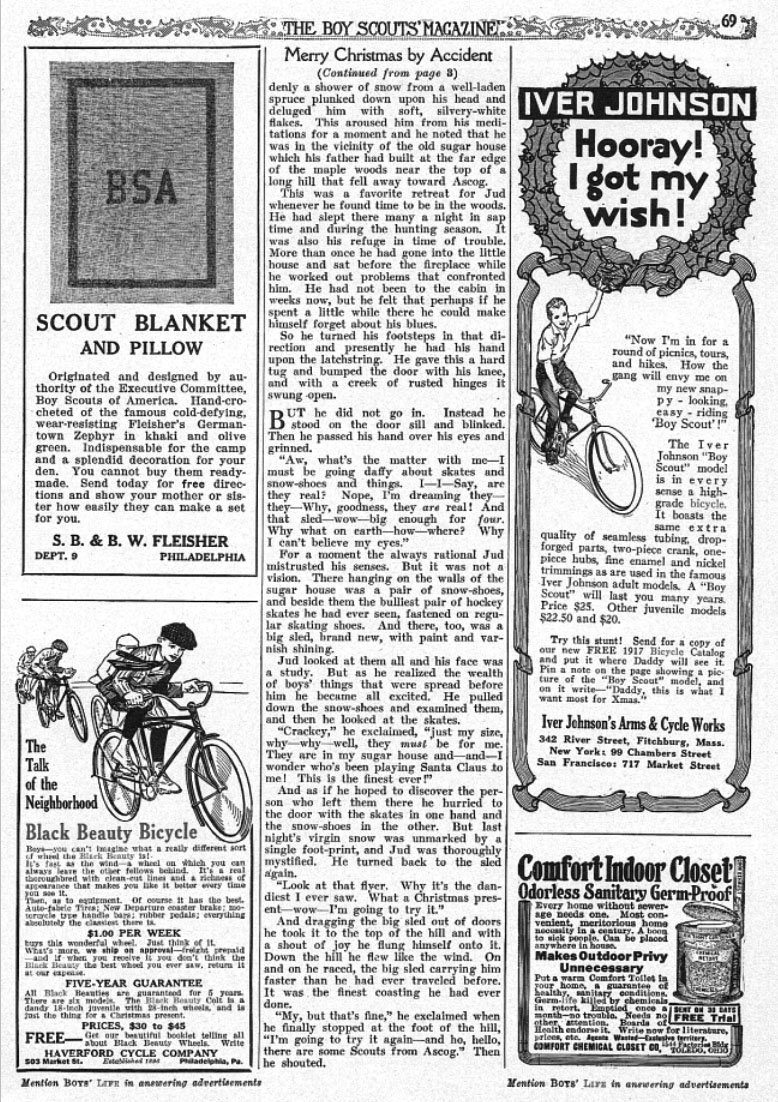 1916 dec boy's life BLACK BEAUTY