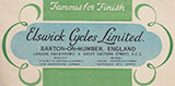 1926 Gentlemans Elswick Popular Cross Truss