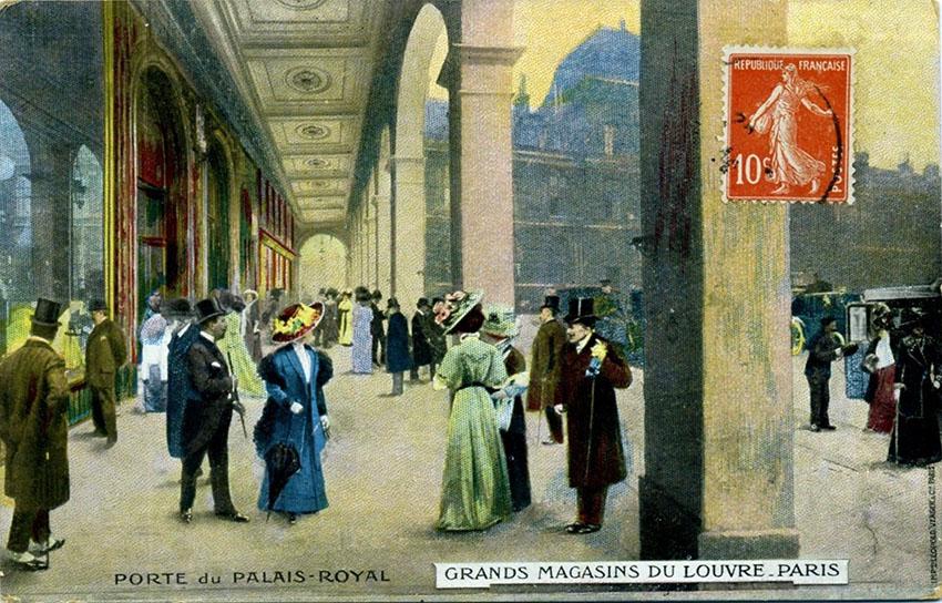 Agenda Grands Magasins du Louvre 1910 copy