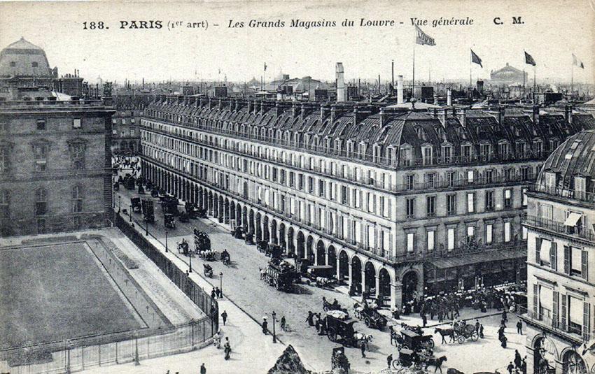 1905 velo dame grands magasins du louvre garageancien. Black Bedroom Furniture Sets. Home Design Ideas
