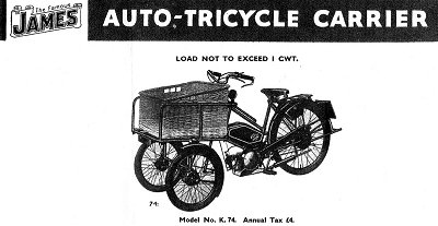 James Auto Carrier tricycle 2