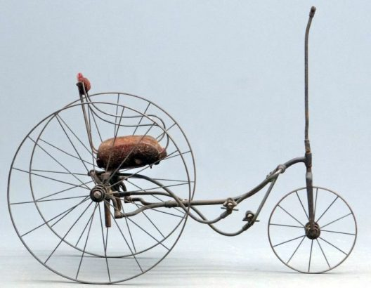 1880s tiller treadle tricycle 05