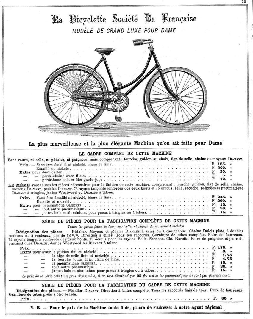 1902 La Bicyclette Societe La Francaise 06