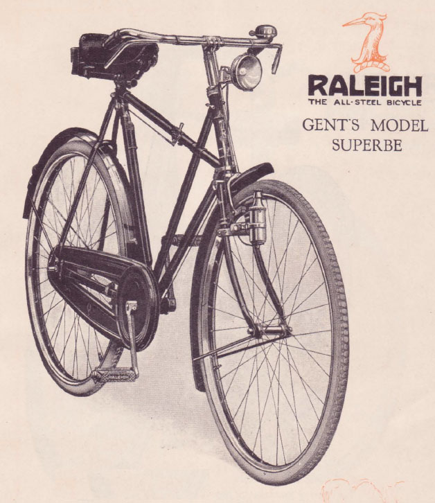 1929 RALEIGH CATALOGUE 1