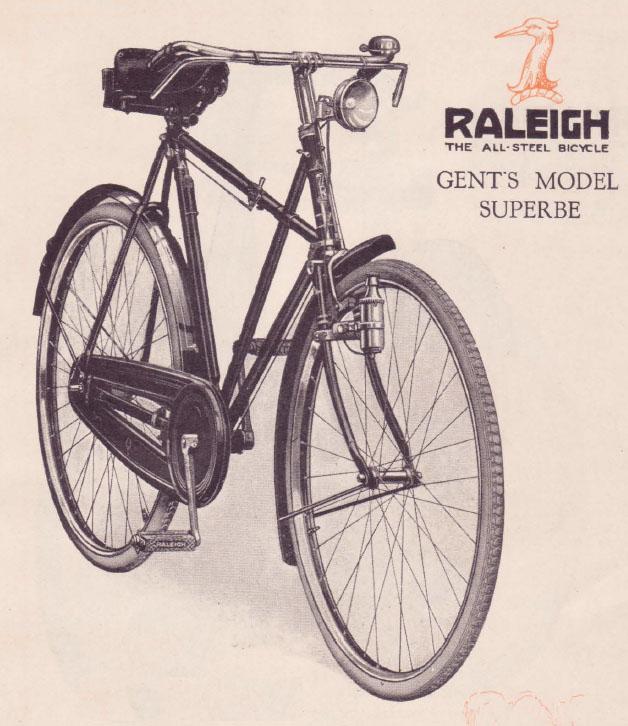 1929 RALEIGH CATALOGUE 1