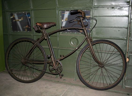 1942 WW2 BSA Airborne Bicycle, 1st Pattern 05