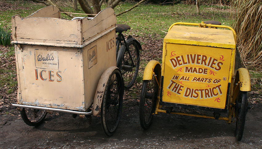 1950 Pashley Grocer's Carrier Tricycle 85