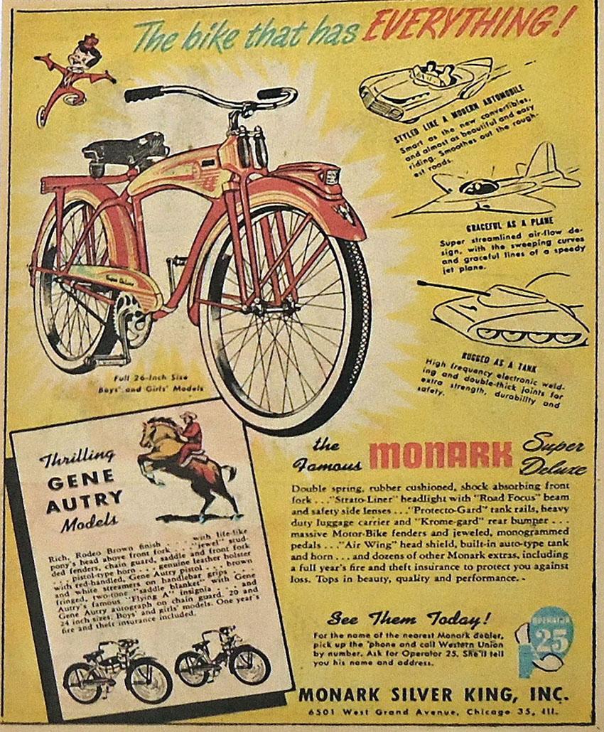 1951 Monark Gene Autry 15