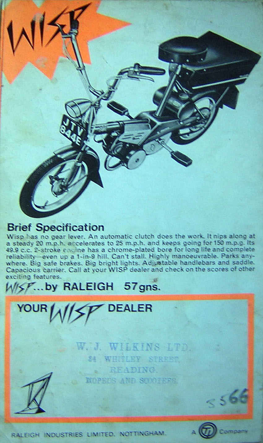 1967 Raleigh Wisp Brochure 2