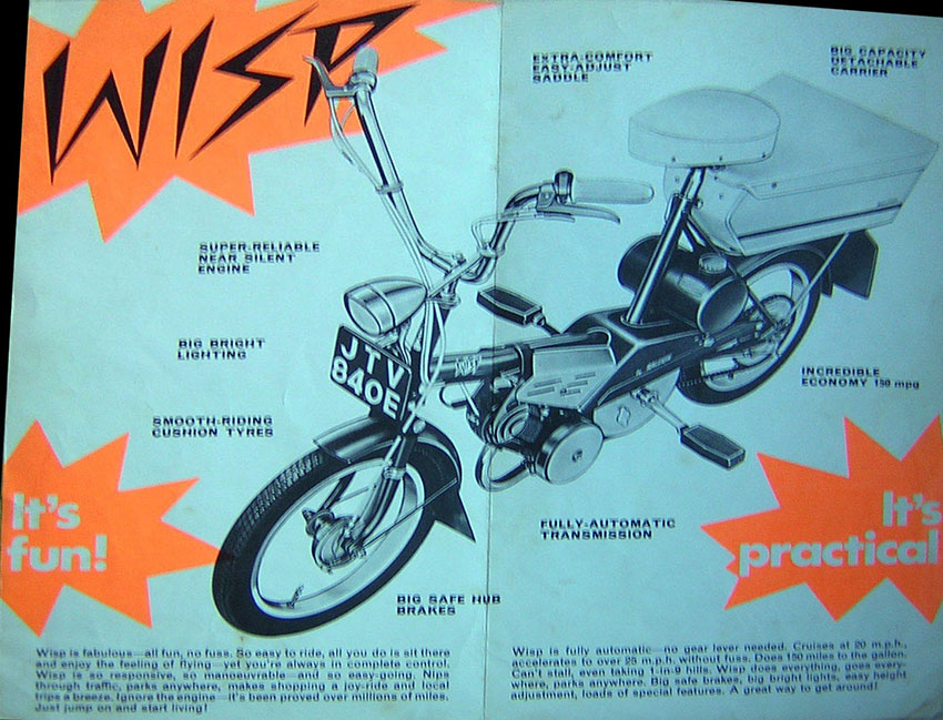 1967 Raleigh Wisp Brochure 3