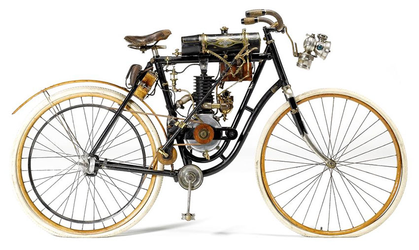 CRESCENT LADIES CHAINLESS MOTORCYCLE