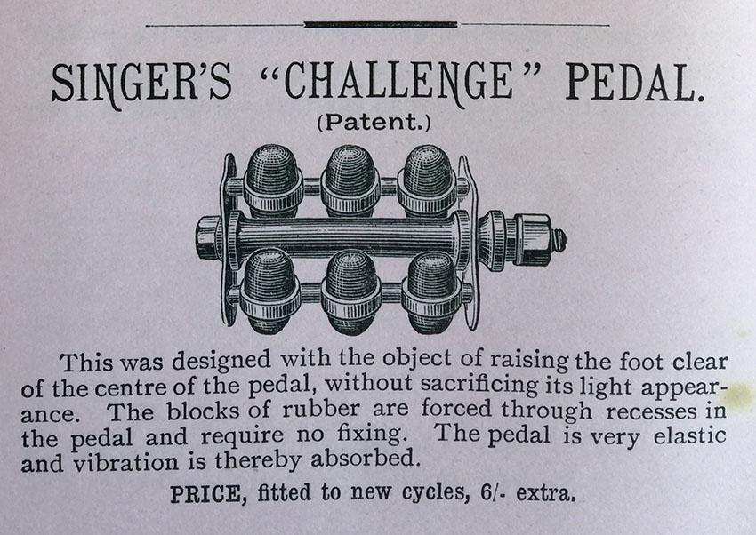 singer challenge pedal