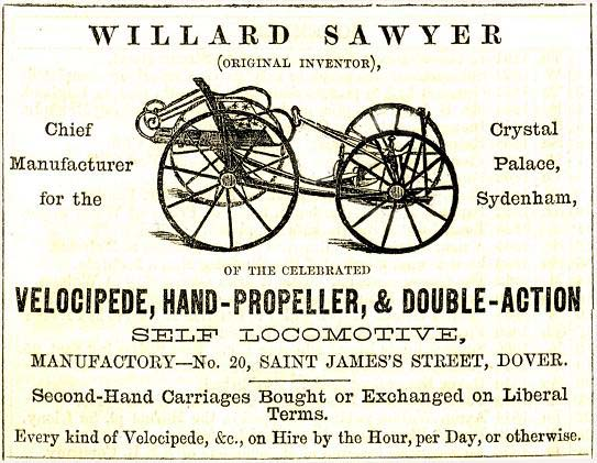 william sawyer quadricycle