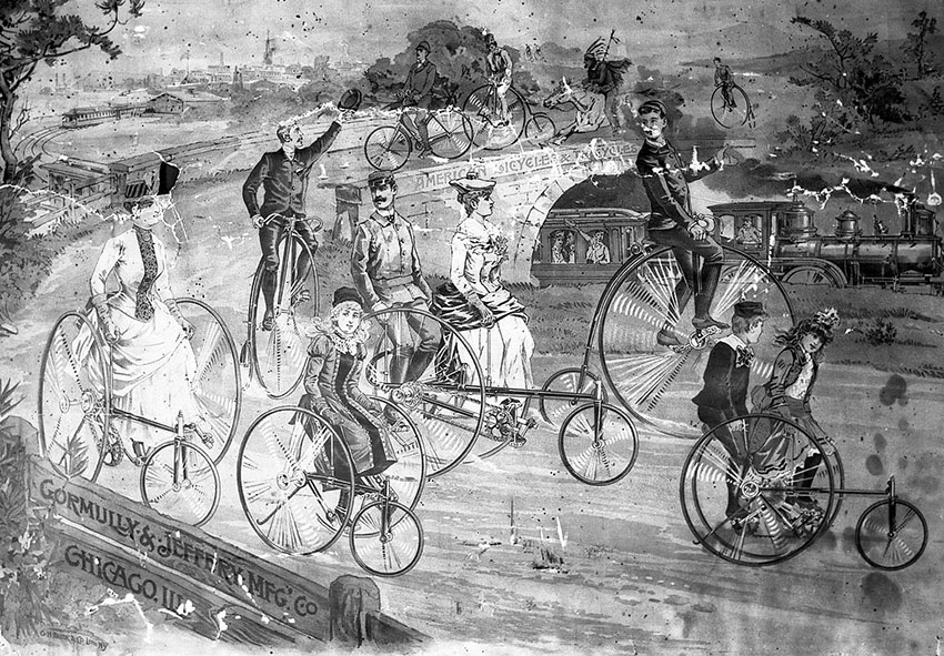 1880s victorian tricycles