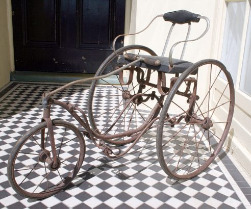1890 Tiller Treadle Tricycle 05