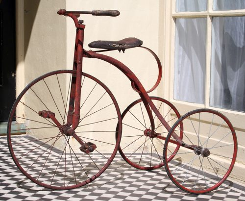 1890s Velocipede Tricycle 05