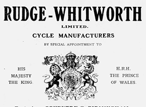 1905 RUDGE WHITWORTH 3
