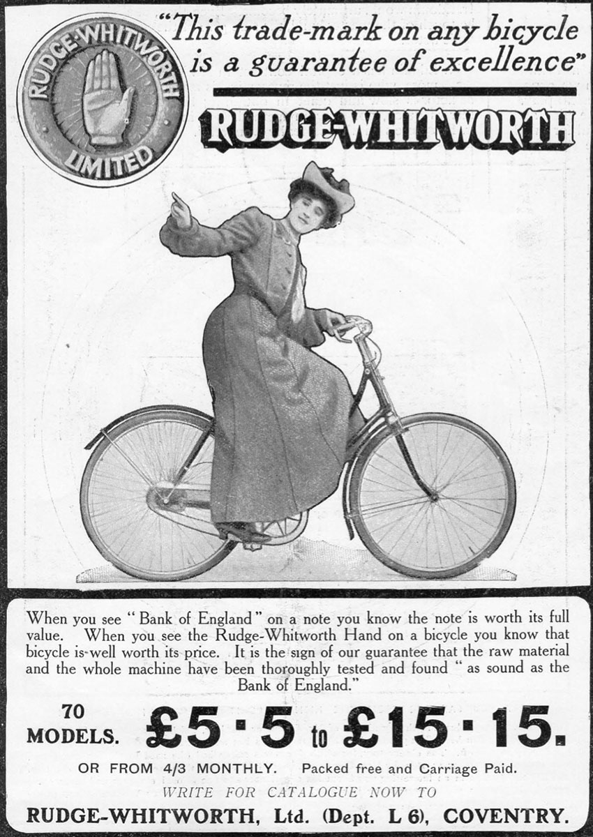 1905 RUDGE WHITWORTH