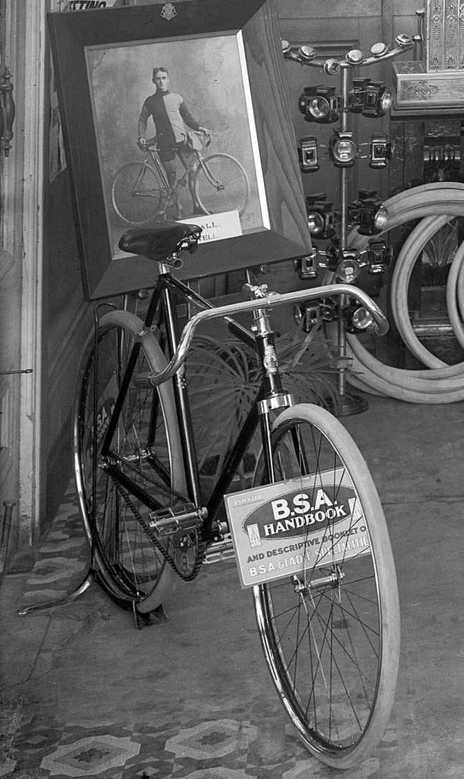 bsa fittings bike