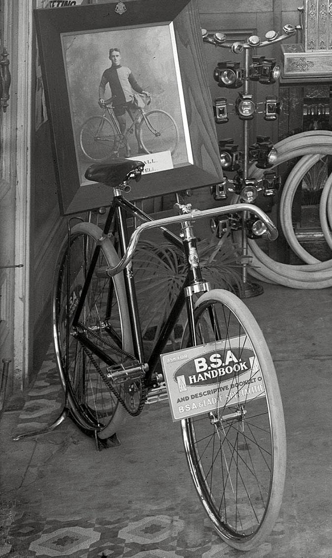 bsa fittings bike