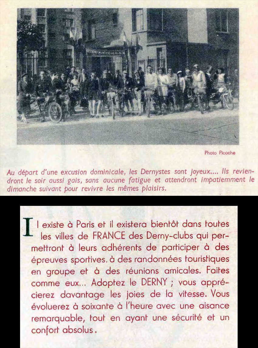 derny clubs france