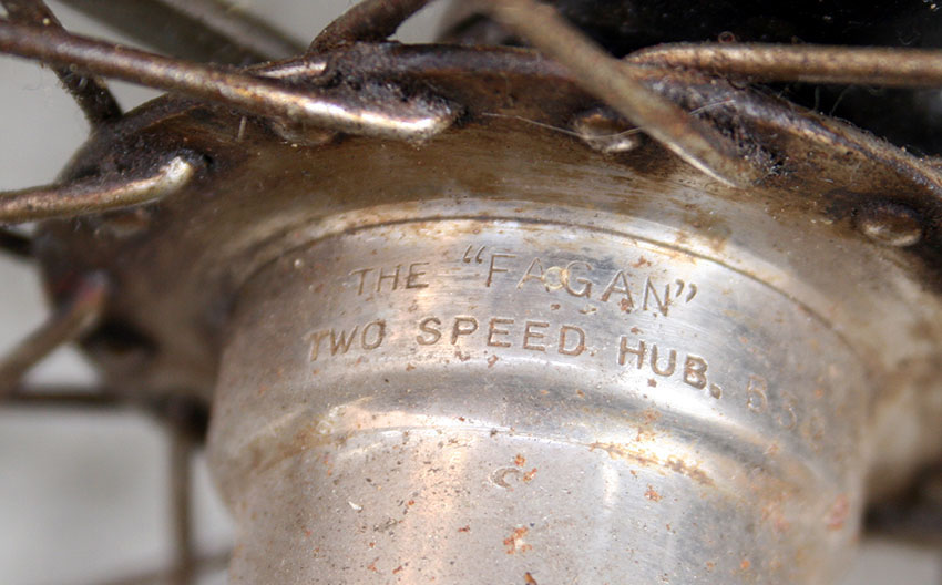 fagan two speed hub 12