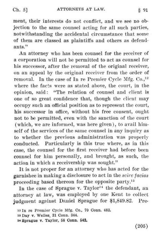 premier legal precedent