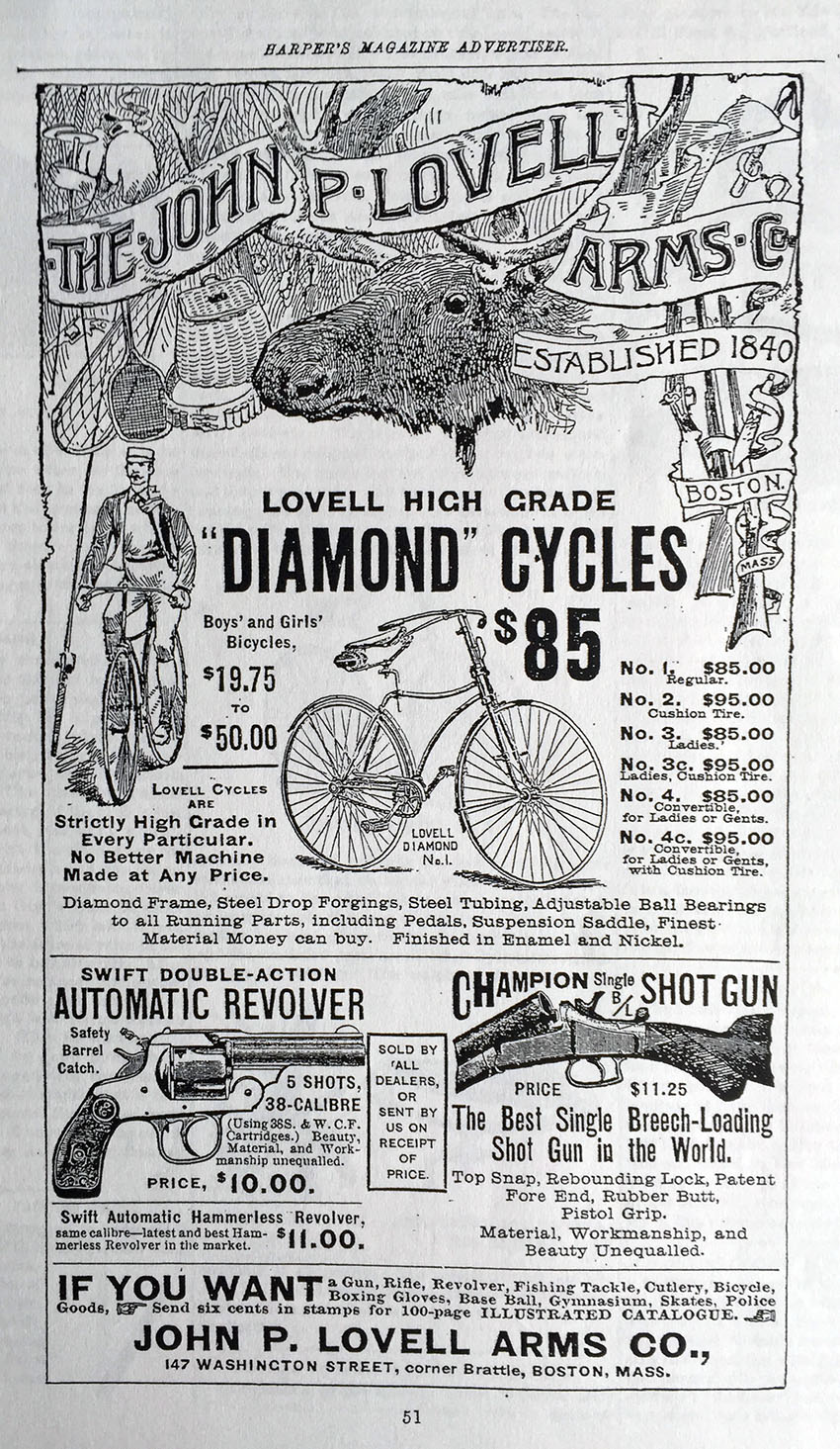 1891 Lovell Diamond 20
