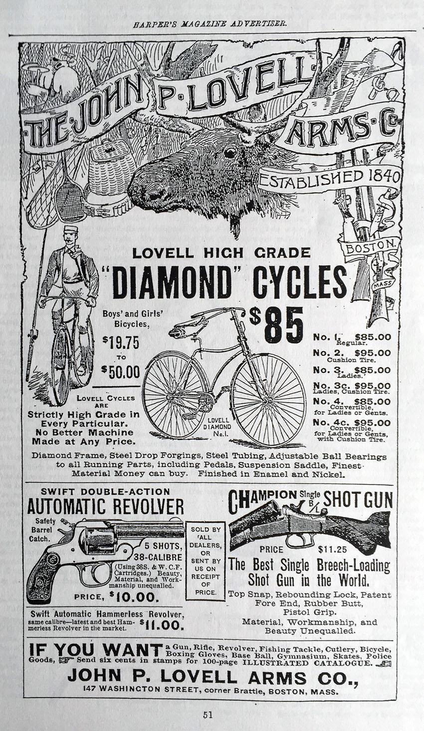 1891 Lovell Diamond 20