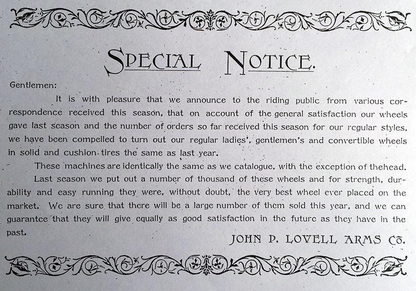 1892 Iver Johnson Lovell Diamond