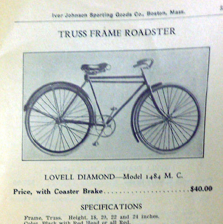 Lovell Diamond truss frame roadster 9 copy