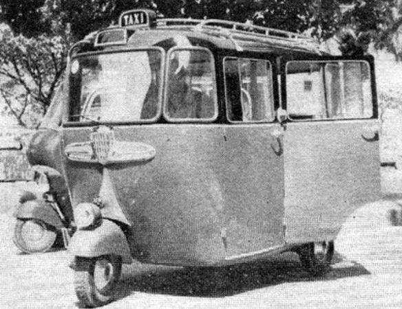 vespa taxi