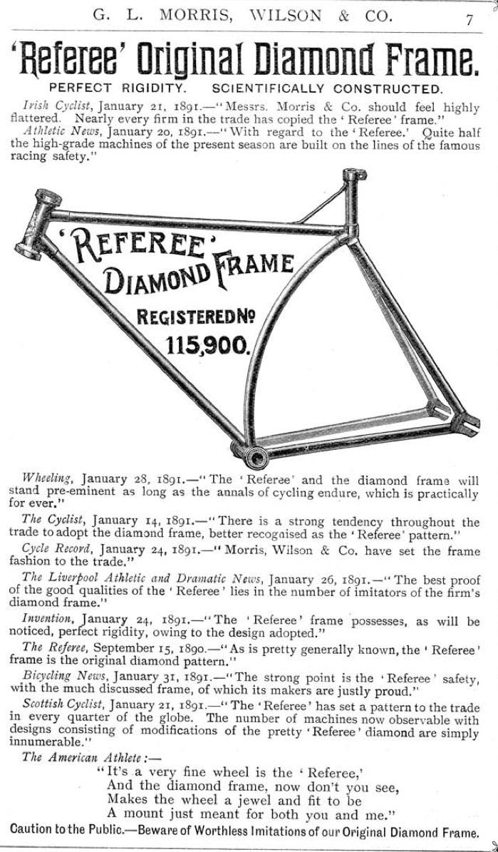 1891 Referee Diamond Frame 01