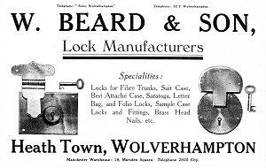 1920 w beard & sons