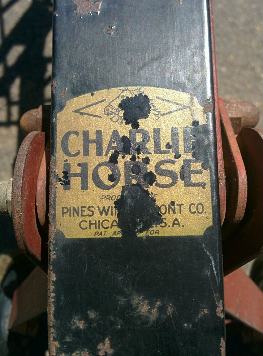 1920s Charlie Horse 88