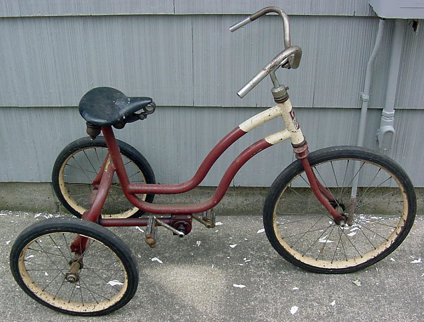 1940s Gearcycle Chainless Tricycle 06