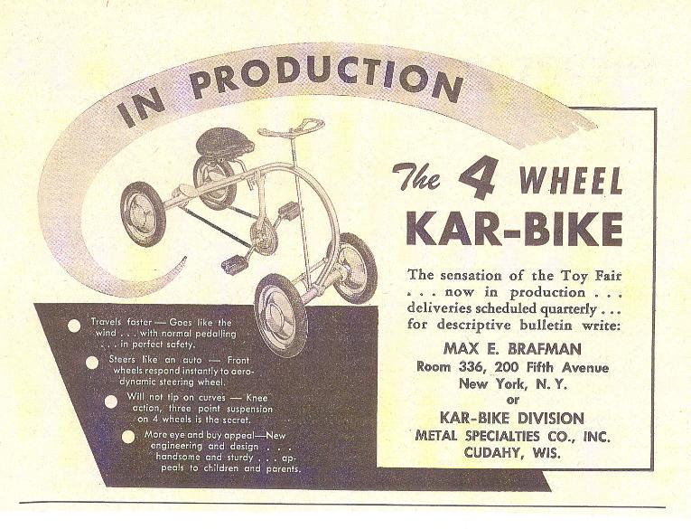 1948 Kar-Bike 25