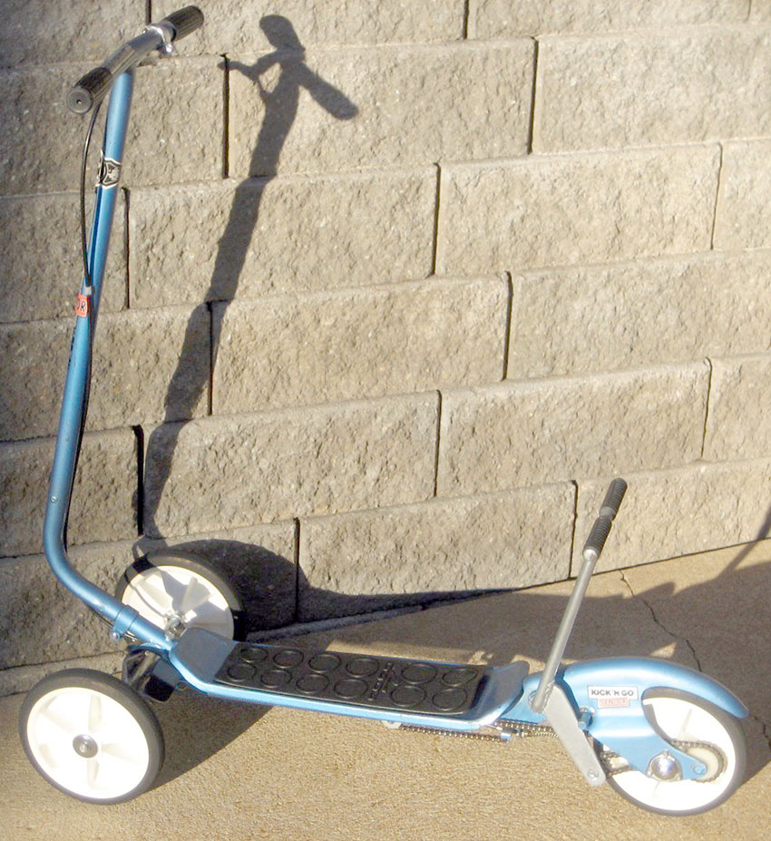 1976 Kick n Go Senior Scooter 24