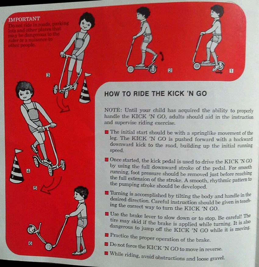 HONDA KICK N GO MANUAL 0