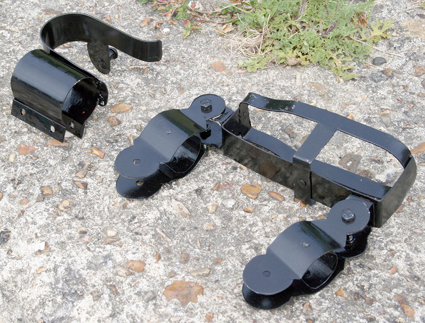 WW1 WW2 BICYCLE RIFLE CLIPS MOUNTS FOR SALE 0