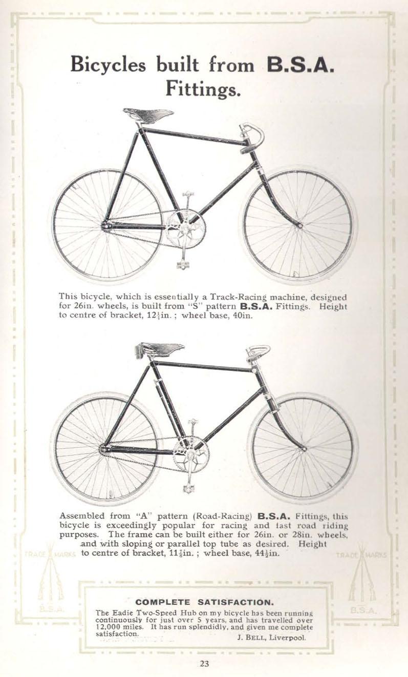 1910 bsa racer