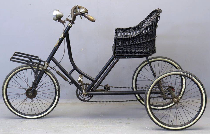 1924 Monet Goyon Tricycle 30