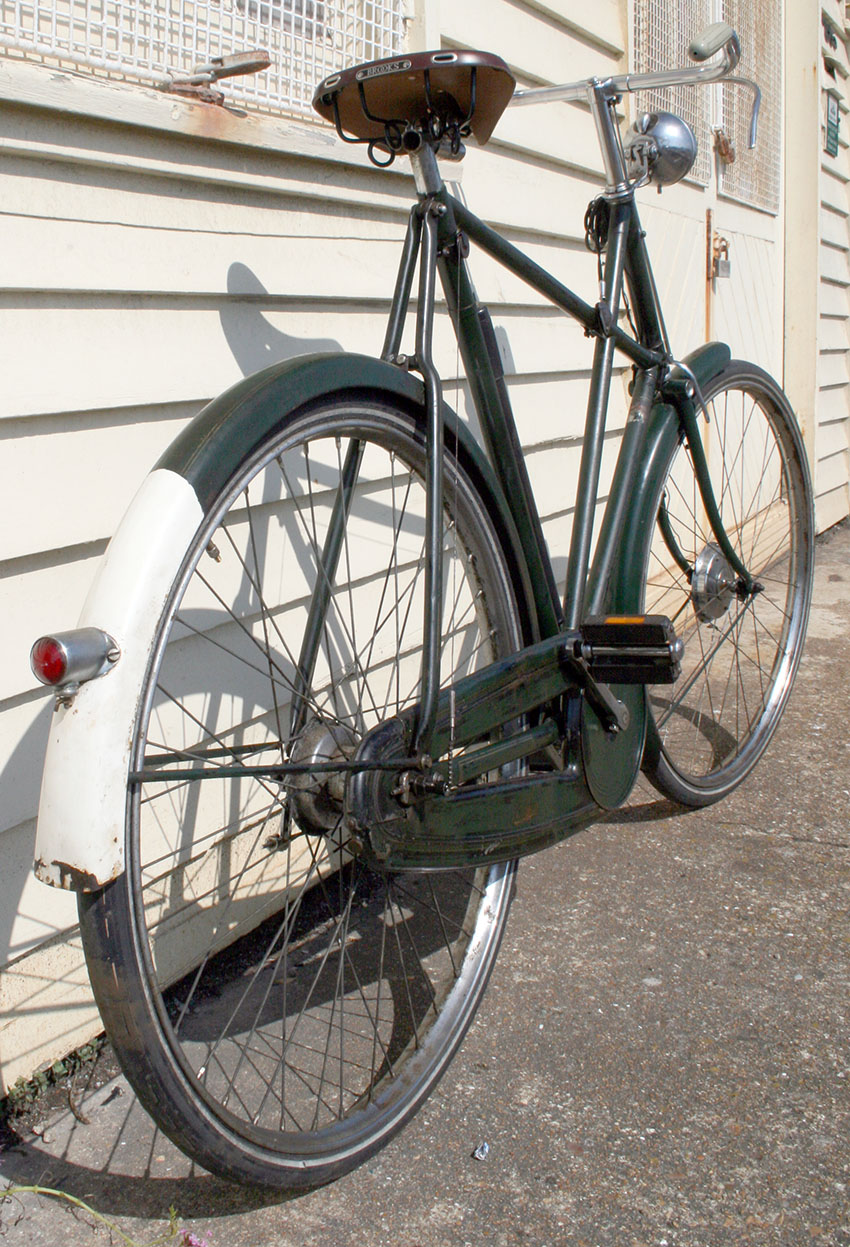 1934 Raleigh X Frame Green 99