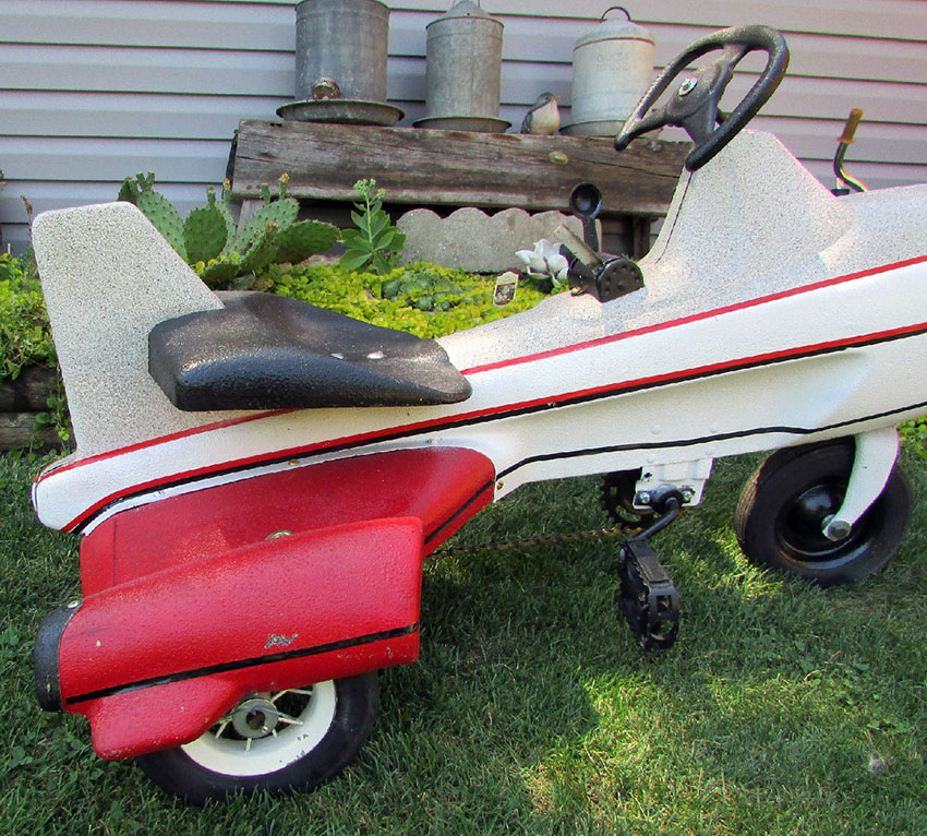 1950s Murray Rocket Ship Tricycle 22 The Online Bicycle