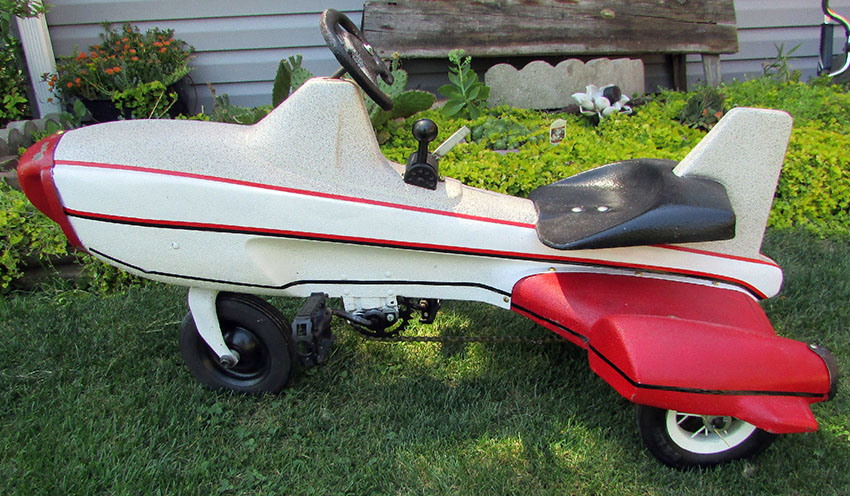 1950s Murray Rocket Ship Tricycle 45 The Online Bicycle