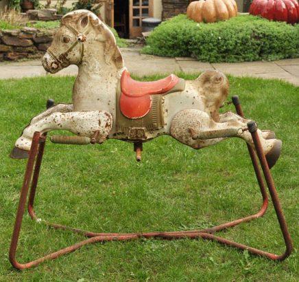 1960s Mobo Prarie King Rocking Horse 05