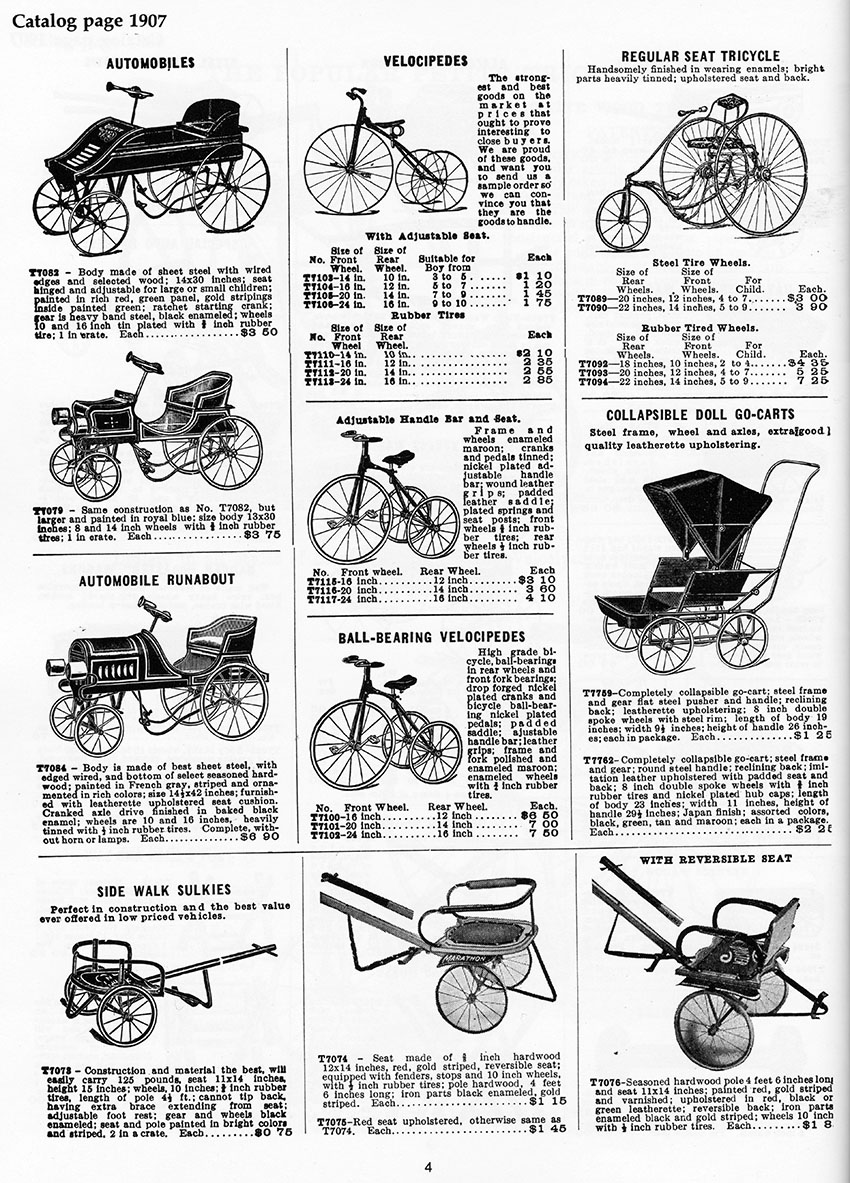 1890s tiller tricycle 15