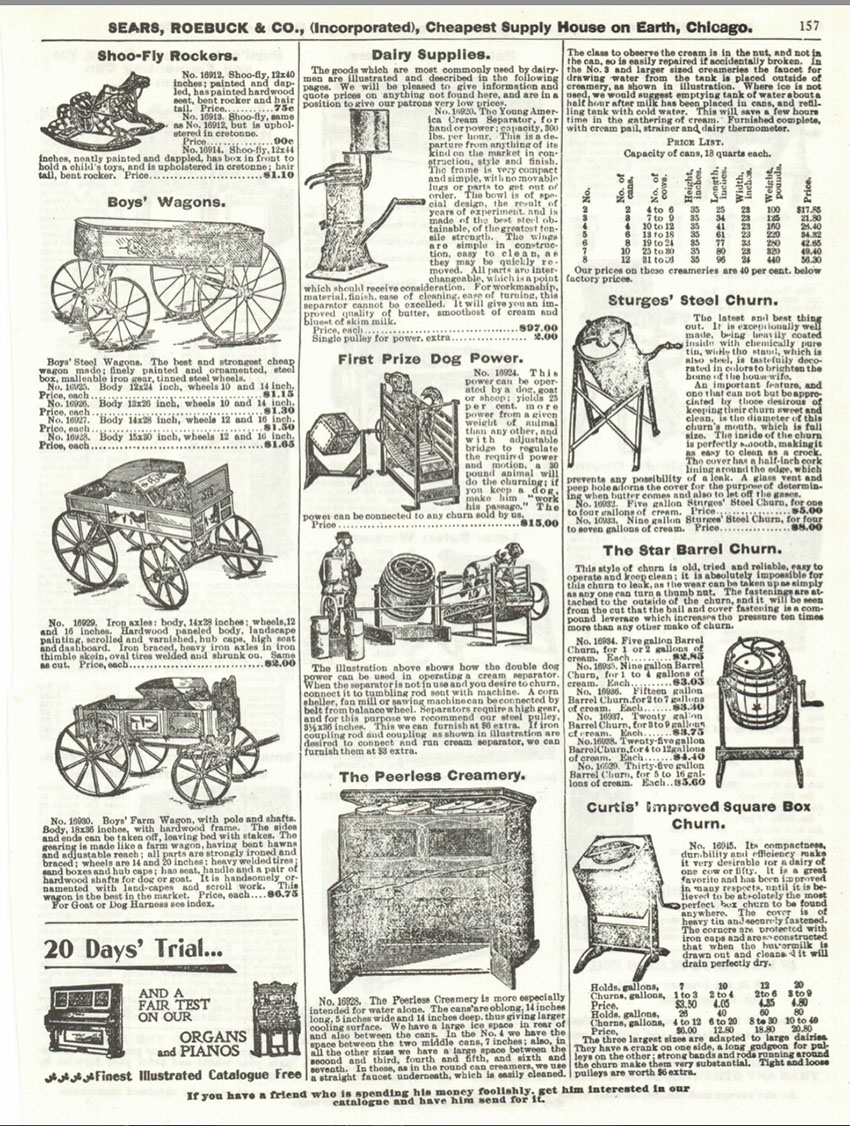 1897 Sears Roebuck Catalogue 157 The Online Bicycle Museum