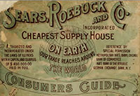 1898 SEARS ROEBUCK CATALOGUE