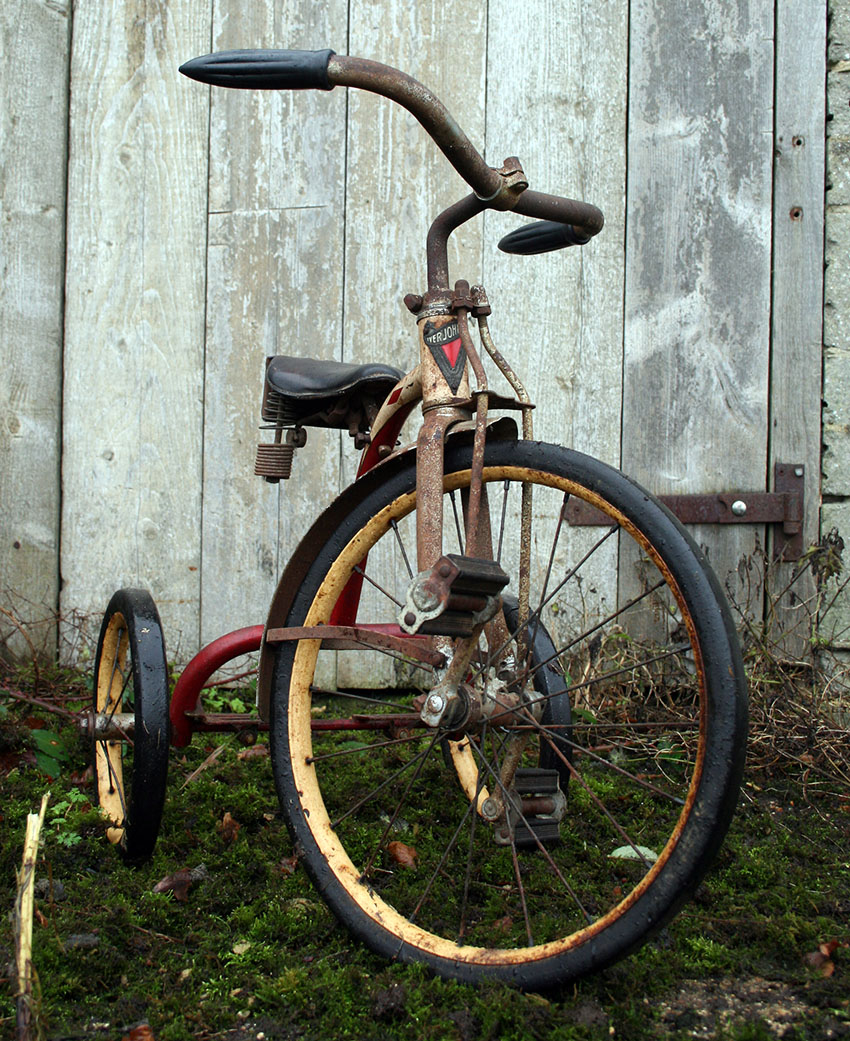 1920s Iver Johnson Velocipede Tricycle 05
